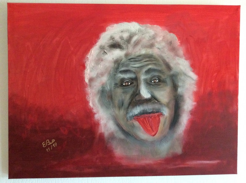 """POP ART"" Einstein"