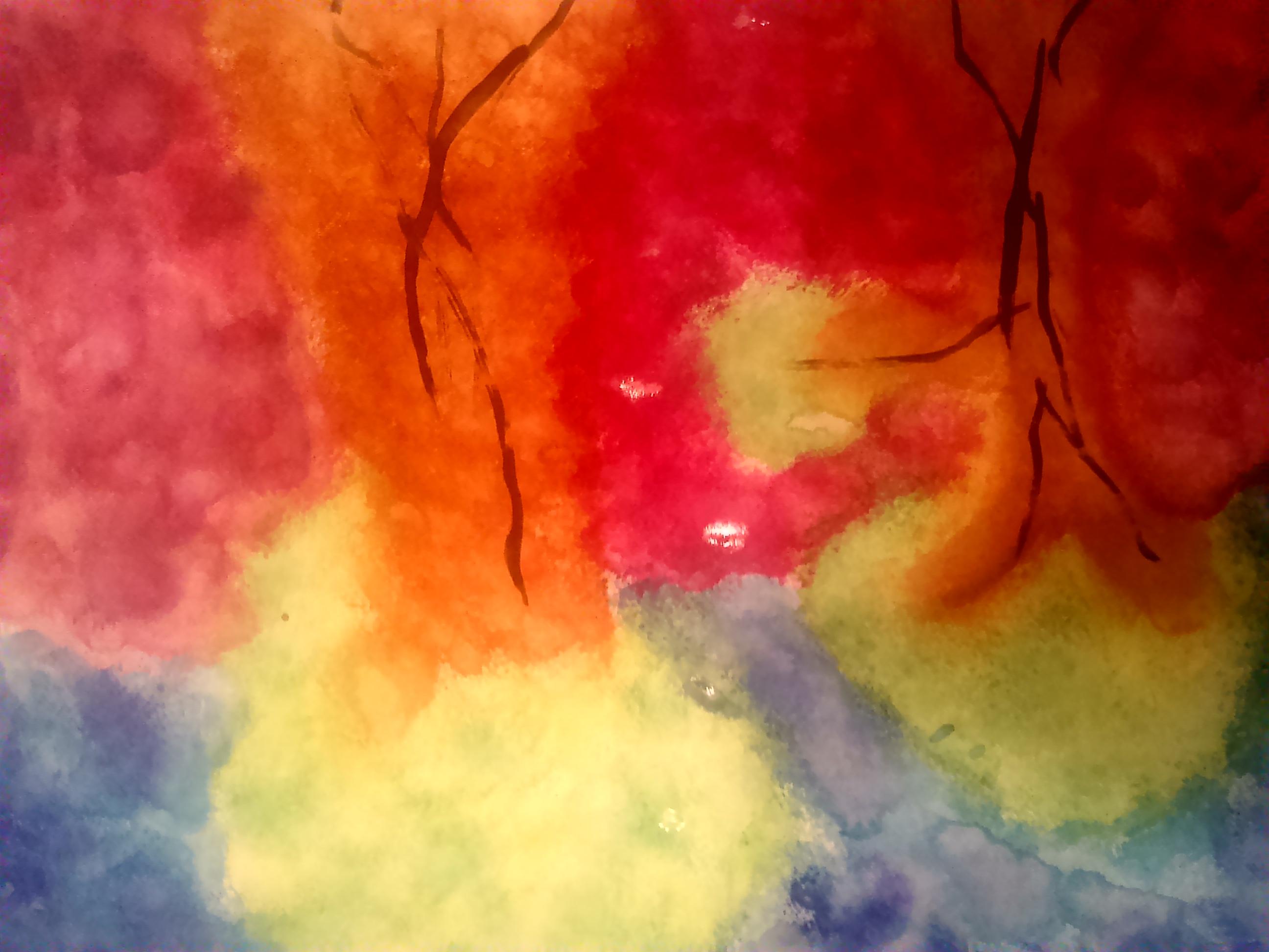 Abstrakte kunst - Natur
