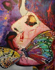 """last kiss of a butterfly"""