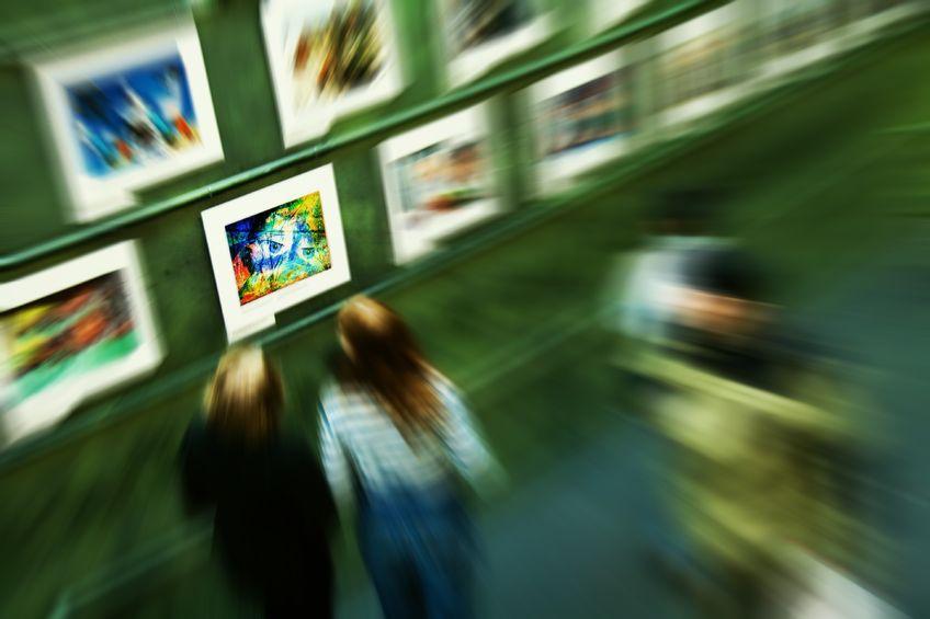 Kunstausstellung selbst durchführen