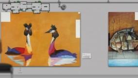 Zur animierten Online-Kunstgalerie  Albert Weber