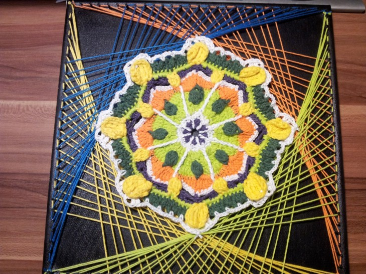 Mandala String Art